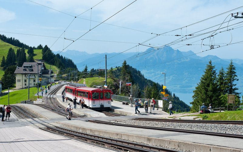 Rigi Kulm - Switzerland - Scenic trail routes - Sommer