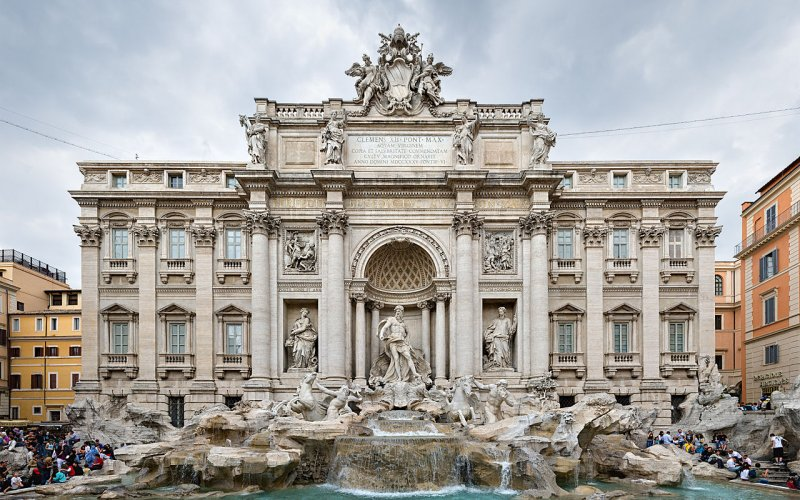 Trains to & from Rome | Trevi Fountain