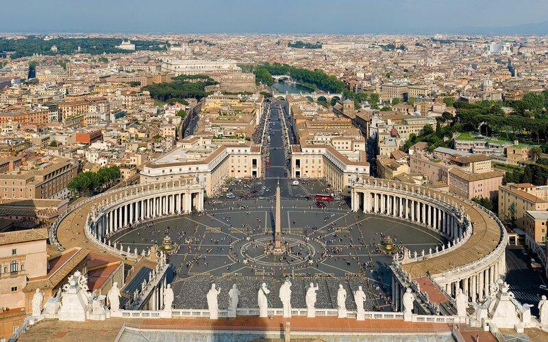 Treinen van en naar Rome | Vaticaanstad