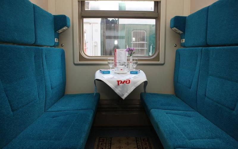 Train Reservations in Russia | All Reservations & Passes | Rossija Night Train, Train 2 Moscow to Vladivostok, interior 1st class