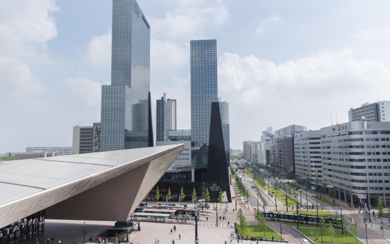 Book Your Eurail/Interrail Adventure at HappyRail | Trip Itineraries for Eurail | Rotterdam Central Station