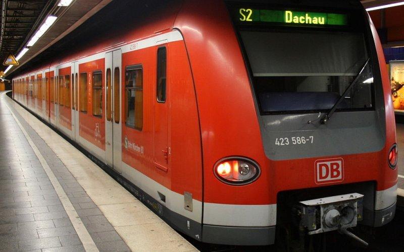 S Bahn Germany | Trains in Germany | S2 nach Dachau