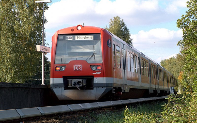 S Bahn Germany | Trains in Germany | S3 nach Pinneberg