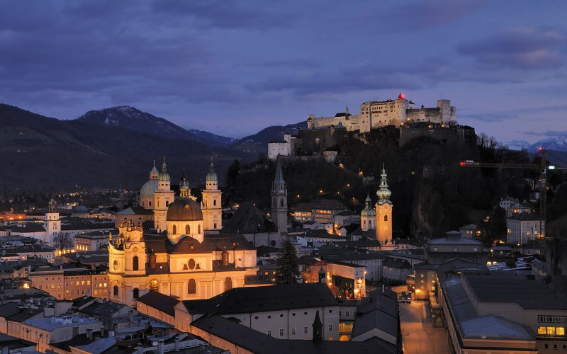 Train to Salzburg - All train tickets and rail passes