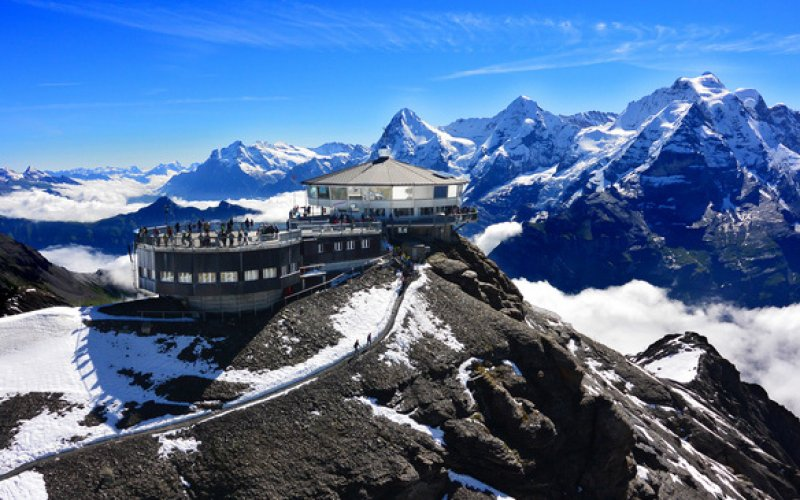 Schilthorn - Switzerland trains