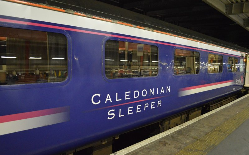 Trains in Great Britain - Travel on the Caledonian Sleeper - All train tickets and rail passes