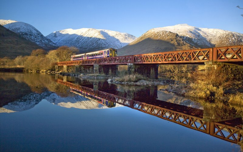 Trains to & from Fort William | Loch Awe in Scotland