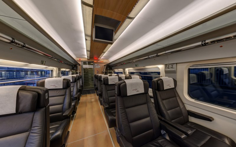 Trains Barcelona to Madrid - AVE High Speed Trains 1st class