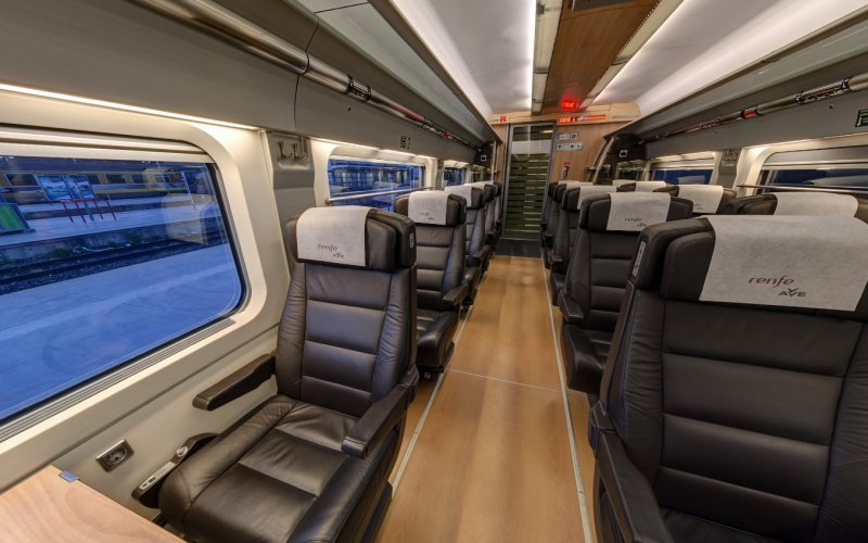 Trains Cordoba to Madrid - AVE High Speed Trains 1st class