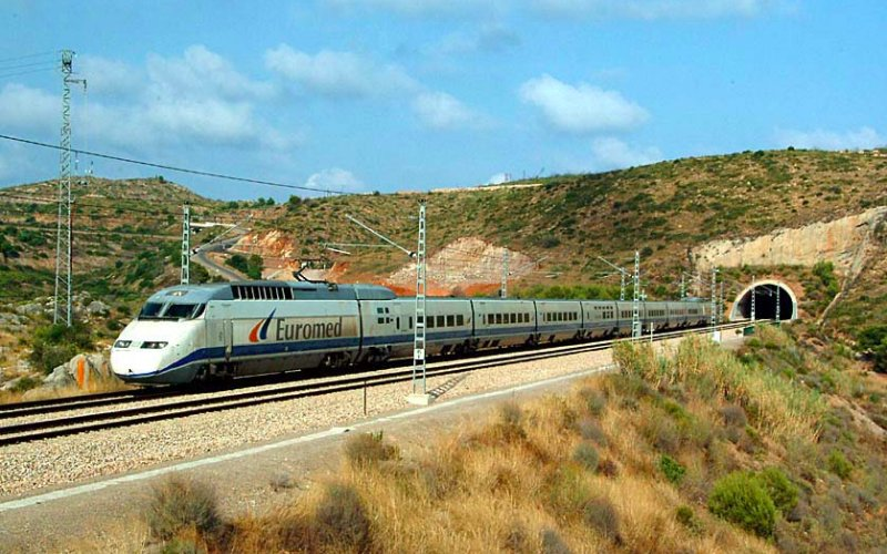 Trains In Spain Map.Trains In Spain Timetable Prices Train Tickets Happyrail