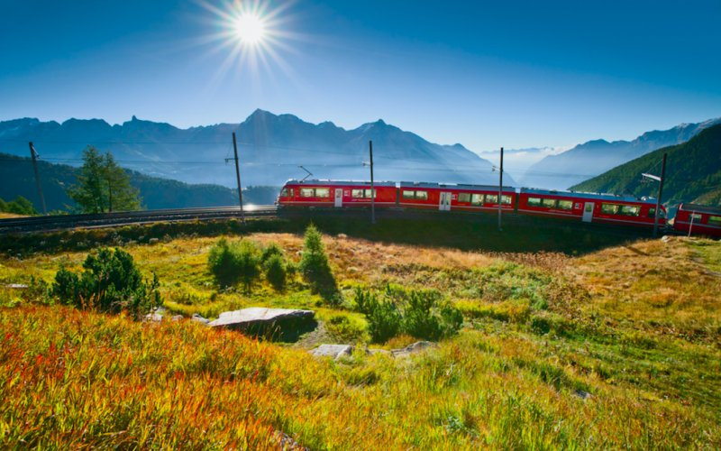 Swiss Travel Pass - Bernina Express