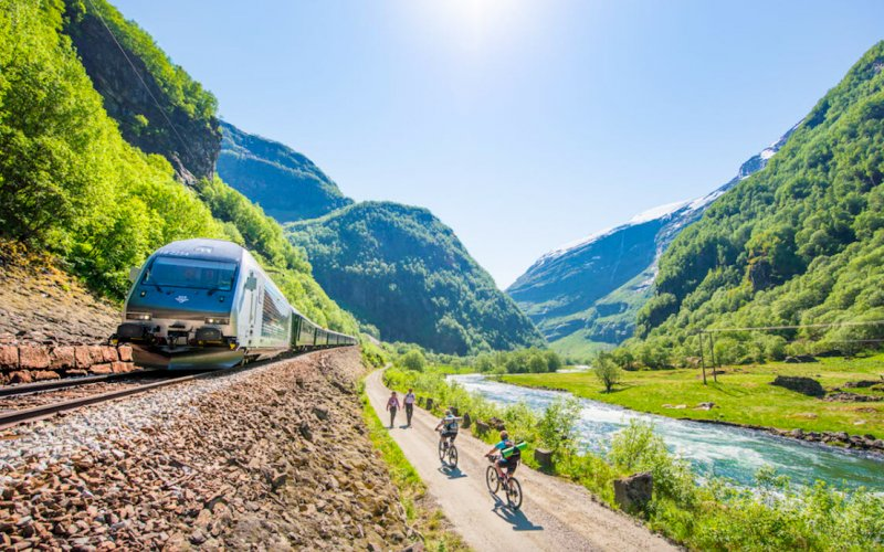 Trains Myrdal to Flam