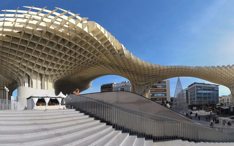 Trains to & from Seville | Modern architecture in Seville