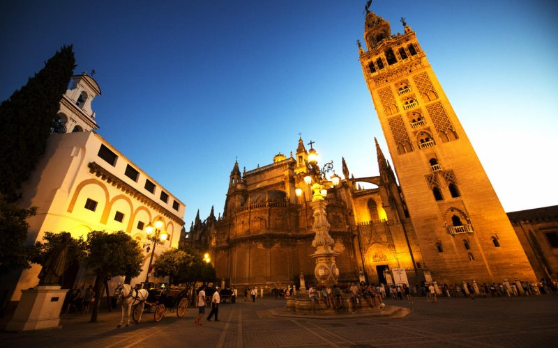 Book Your Eurail/Interrail Adventure at HappyRail | Trip Itineraries for Eurail | Seville Church