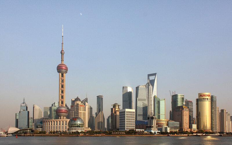 China by train | Skyline Shanghai