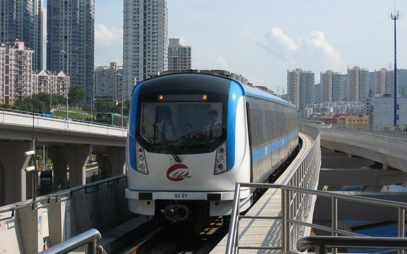 China by train | Shenzen metro system
