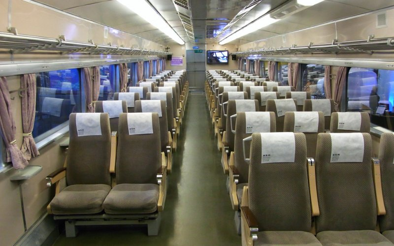 Shinkansen | High-speed train Japan: ordinary class