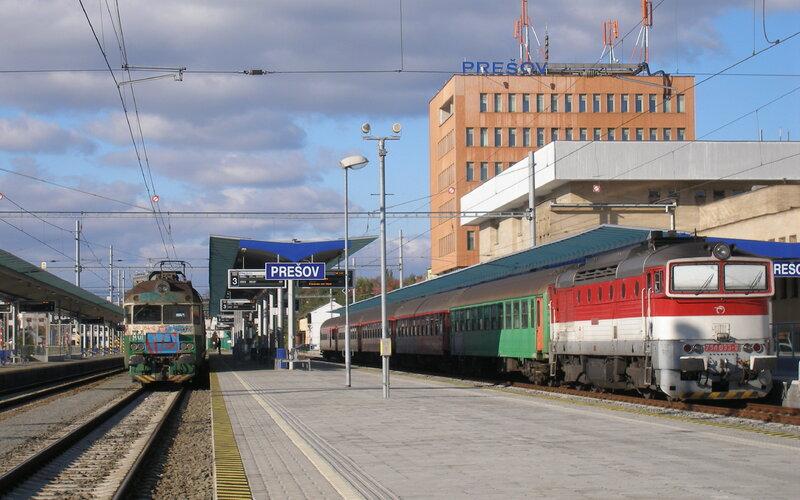 InterCity Slovakia   Trains in Slovakia   Train service to Presov Slovakia