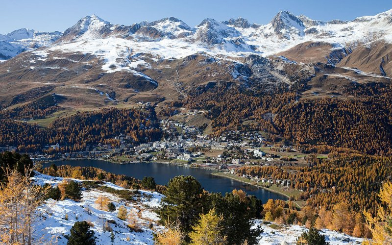 Trains to & from St Moritz | Swiss Alps