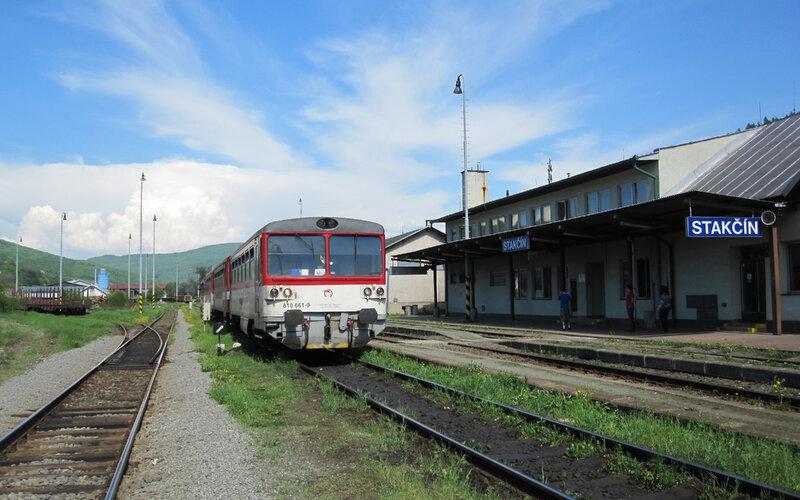 InterCity Slovakia   Trains in Slovakia   Train service to Stakcin Slovakia