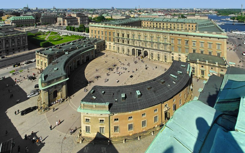 Trains to & from Stockholm | Aerial view of Stockholm city centre