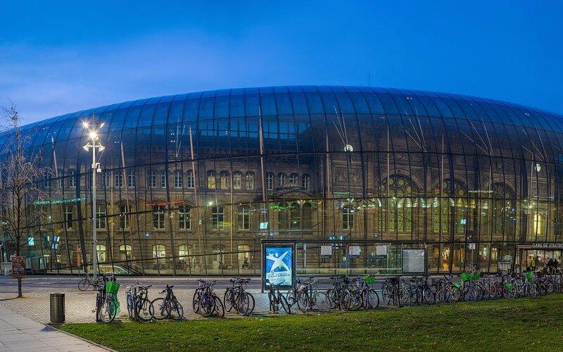 Treinpassen, treinkaartjes en treintickets - Trein naar Strasbourg