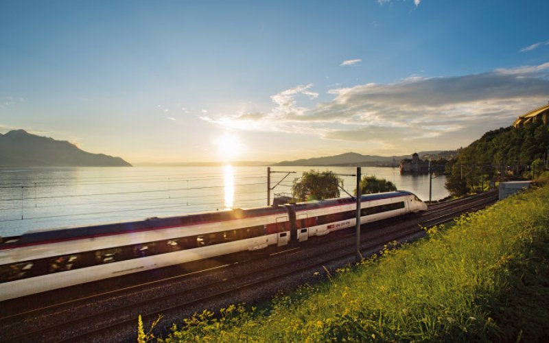 Cheap Train Tickets Switzerland - High Speed Train