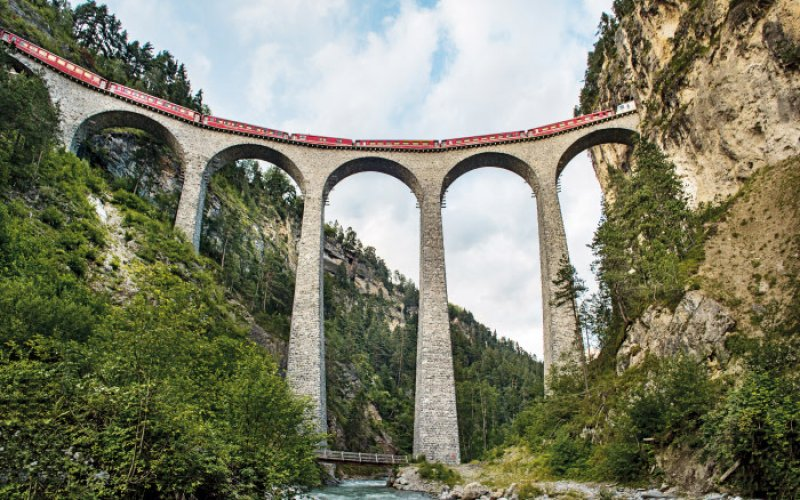 Trains in Switzerland | Swiss Travel Pass | Rail viaduct