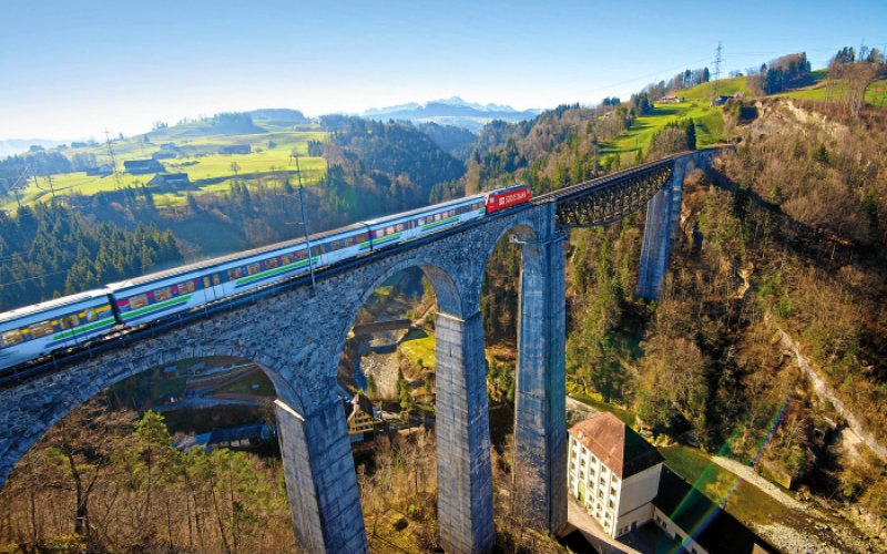 Swiss Travel Pass - Bridge Intercity