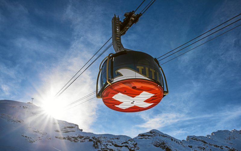 Cable cars - Swiss Travel Pass