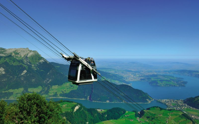 Swiss Travel Pass - CabriO Cableway