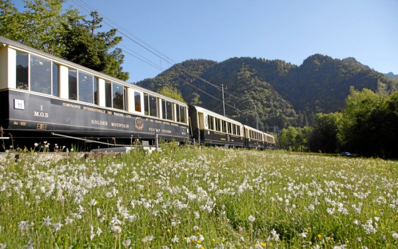 Swiss Travel Pass - Chocolate trains