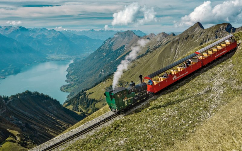 Trains in Switzerland | Swiss Travel Pass | Steam train cog wheel