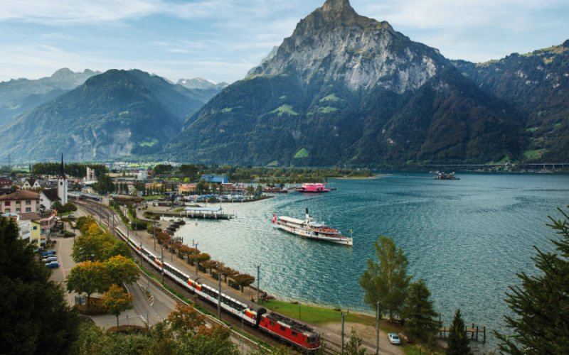 Gotthard Panorama Express - Scenic Train Ride Switzerland - Swiss Travel Pass