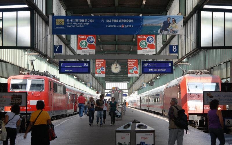 Trains to & from Stuttgart | Regional trains in Stuttgart