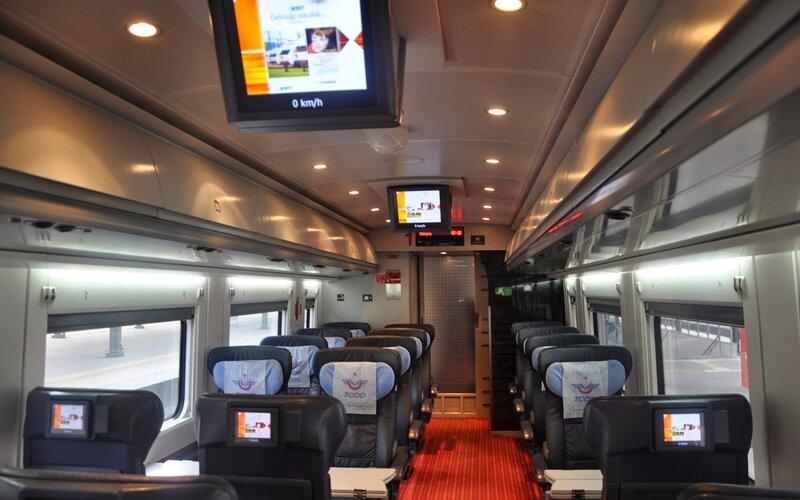 Super Ekspresler | Trains in Turkey | First class interior