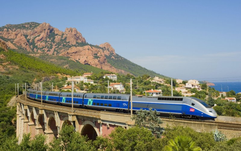 TGV | Trains in France | TGV on cote d azur