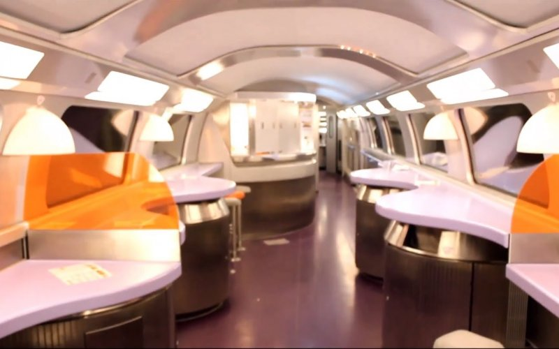 TGV | Trains in France | 1st class interior