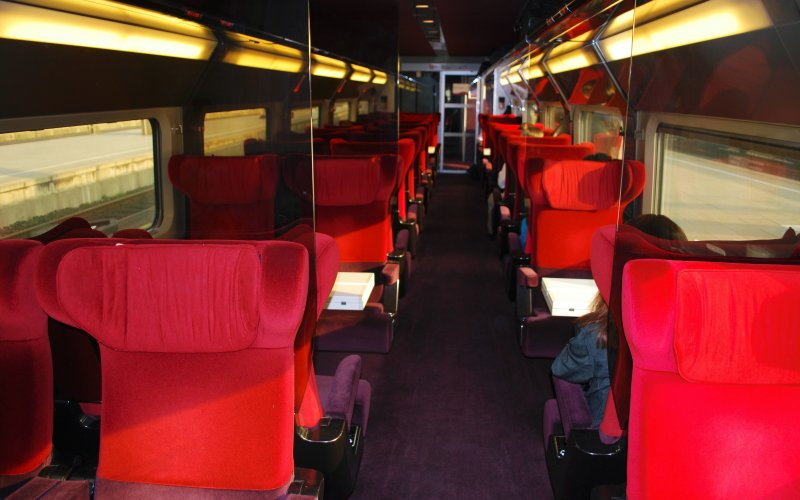 Trains to & from Paris | Thalys first class