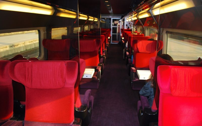 Train Tickets Belgium - Thalys 1st class