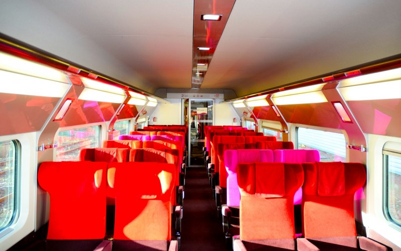 Trains in Belgium - Standard Class on the Thalys - All train tickets and rail passes