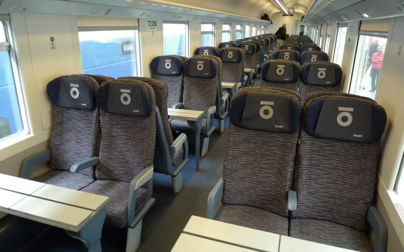Thello | Trains in Europe | Seats in Thello day train