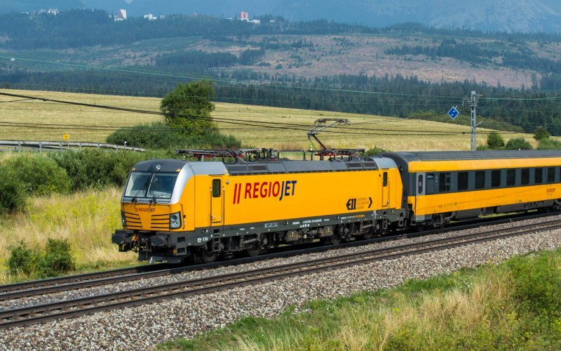 Trains Prague to Vienna - Regiojet