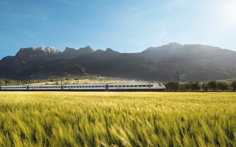 Trains in Switzerland - Intercity