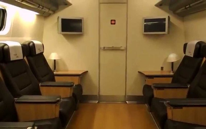 AVE | Trains in Spain | Conference room on board AVE