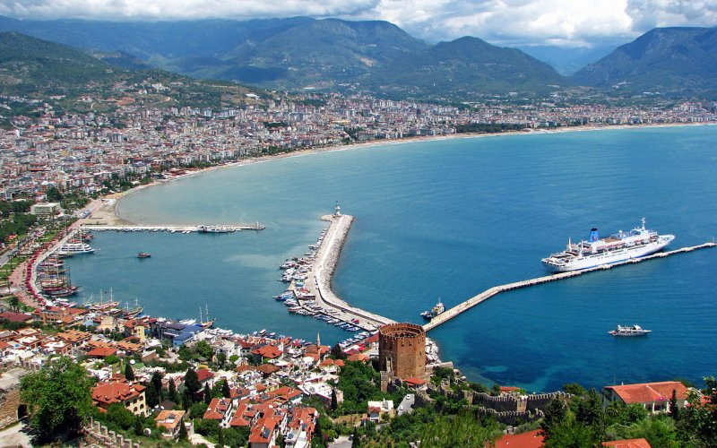 Train to the Turkish Riviera - All train tickets and rail passes