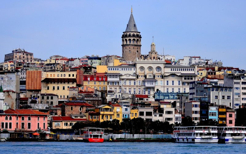 Trains to & from Istanbul | Tower in Istanbul