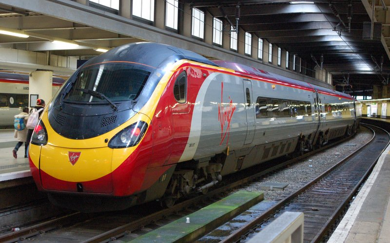 Trains in Great Britain - Travel on the Virgin Trains - All train tickets and rail passes