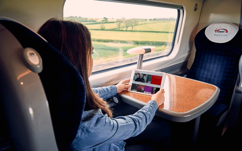 Trains York to London - Virgin Trains - Cheap Train Tickets UK - Wifi on board