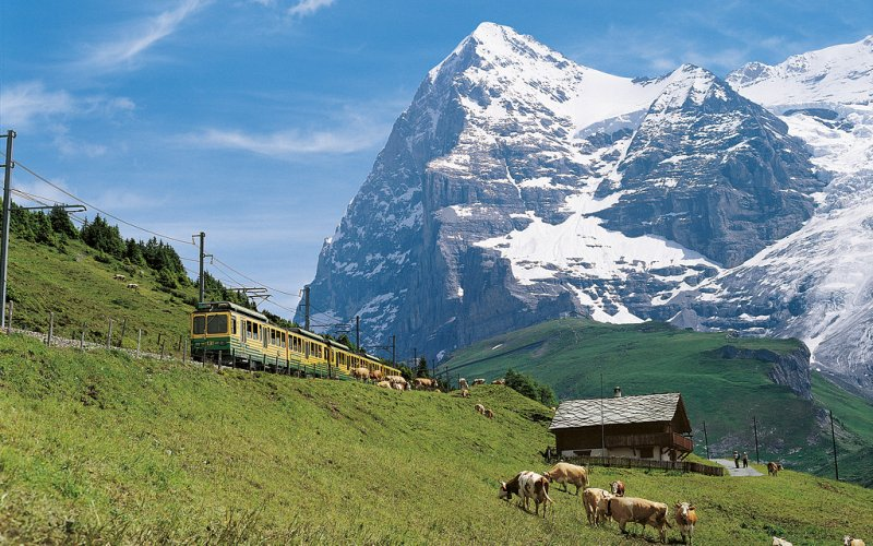 Swiss Travel Pass - Wengen, Lauterbrunnen